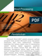 Kelompok1 Word Processing Pengantar Komputer