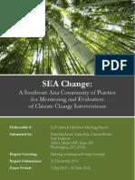 SEA Change CoP Bangkok Annual Members Meeting Report 2011