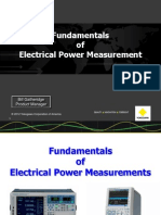 Fundamentals of Power Measurement 111412(1)