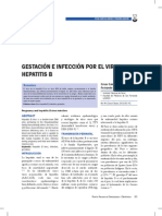 Gestacion e Ifeccion Por El Virus de La Hepatitis b