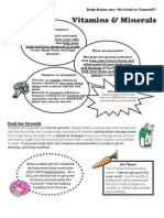 Vitamins and Minerals PDF