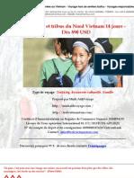 Montagnes et tribus du Nord Vietnam 14 jours -  Dès 890 USD