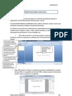 Una presentación es una manera de exponer un contenido.docx