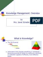 Scheitle on Knowledge Management.ppt