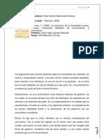 Informe de Lectura La Formacion de La Mentalidad Sumisa i