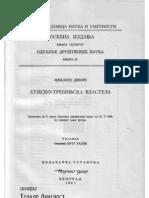 Mihailo Dinić - Humsko - Trebinjska Vlastela