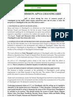 Mission Apna Chandigarh