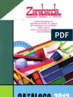Catalogo Zarabanda 2013