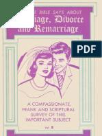 Marriage Divorce and Remarriage - Volume II - Gordon Lindsay