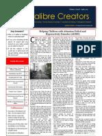 Calibre Creators Learning-letter-Apr 13