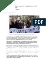 Jovens e encurralados - espanhóis bem qualificados voltam para a casa dos pais - economia UOL (13.02.13)