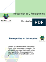 01 Module Overview