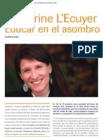 Educar en El Asombro [Entrevista Catherine L'Ecuyer] (P. de Cecilia)