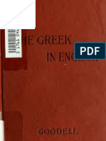 Greek in English