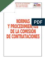 MANUAL COMISIÓN DE CONTRATACIONES 2008