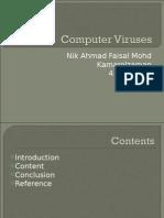 Computer Viruses Form 4