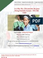 Randonnée à Bac Ha  Découverte du pays des HMong bariolés 6 jours - Dès 266 USD