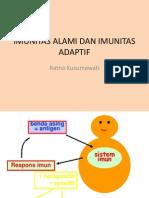Imunitas Alami Dan Imunitas Adaptif