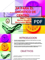 Guia Para Desarrollar El Diagnostico de Centro