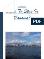 A Guide to Where to Stay in Panama