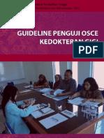 5.9. Guideline Penguji OSCE Kedokteran Gigi 2011