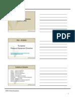 PED Presentation Material