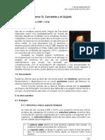 Tema 10 - Cervantes y El Quijote