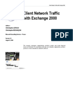 Client Network Traffic With Exchange 2000