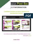 Guide Du Candidat 2013