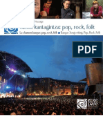 La chanson basque, pop, rock, folk (Jon Eskisabel)