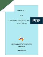 CEA Manual-TD Planning