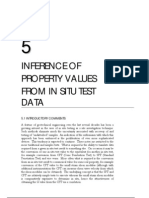 Inference of Geotechnical Property Values