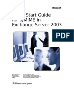 Quick Start Guide for SMIME for Exchange Server 2003