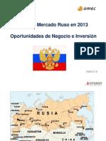 Conferencia Rusia Inverest-Amec 2013