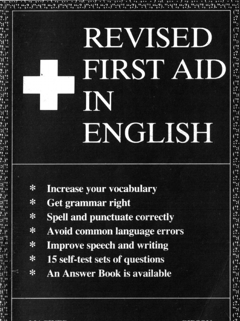 Revised first aid in englishpdf part of speech english language fandeluxe