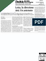 26.04.13 l'Unità Emilia-Romagna