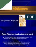 Acute Abdomen Dr Nurhayat