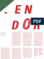 Rowlands, A. 'Vendor', In