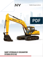 Sany Excavators SY215C