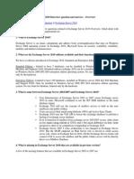 Exchange Server 2010 Intv Q