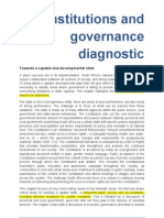 Diagnostic_Institutions and Governance