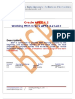 Oracle APEX Lab Guide I