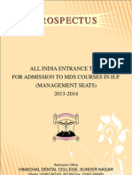 MDS Prospectus 2013 Management Seats (1)