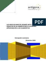 Investigación Observatorio ciudadano de Leganés