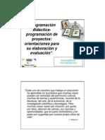 Programacion Didactica y Proyectos