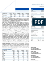 Axis Bank 4Q FY 2013