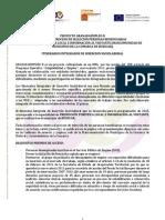 BASES DE SELECCION PERSONAS BENEFICIARIAS Huéscar