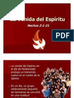 Hechos 2-1-21 La Venida Del Espiritu Presentacion