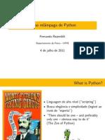 Curso relâmpago de Python