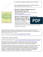 Society and Natural Resources 2012 257 716 725